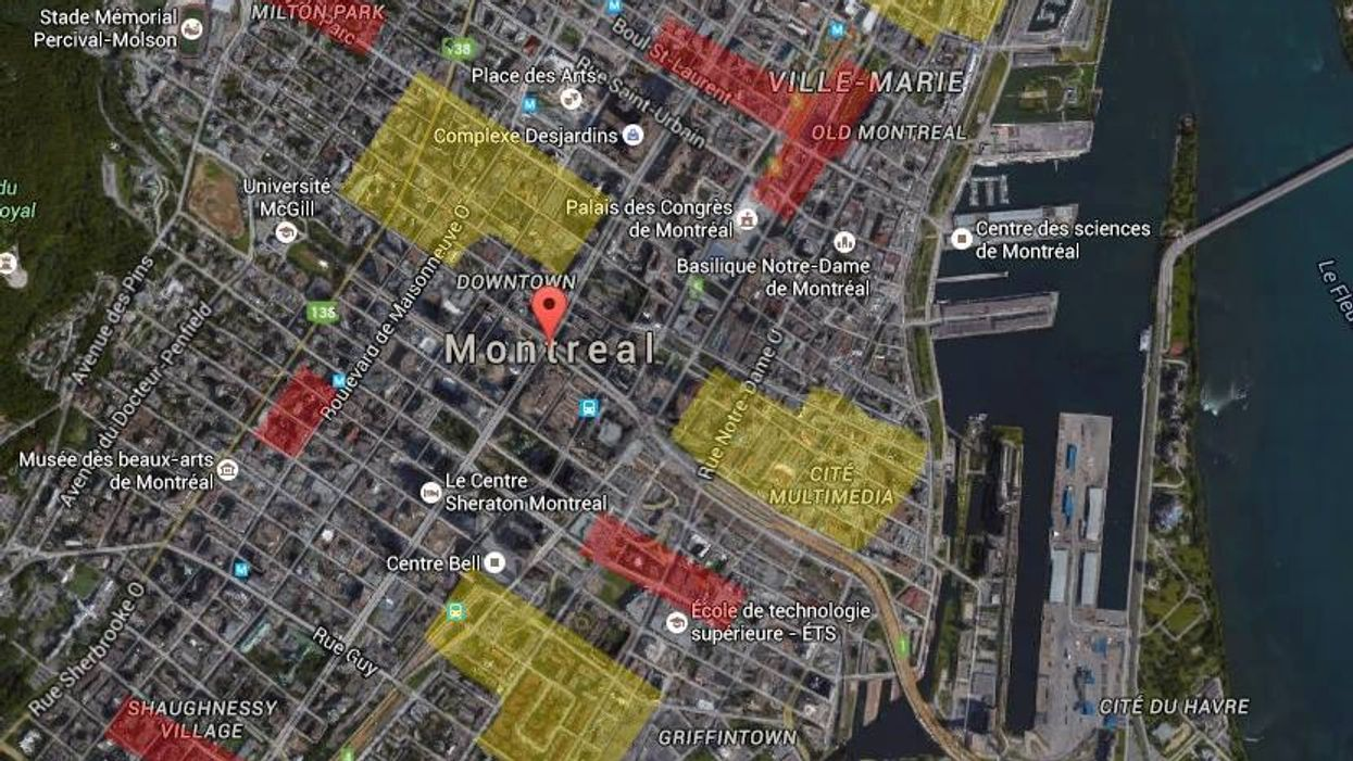 This Montreal Map Will Tell You If You're Living On A Garbage Dump