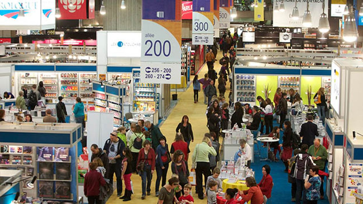 Montreal's Biggest ''Book Festival'' Is Taking Over Place Bonaventure