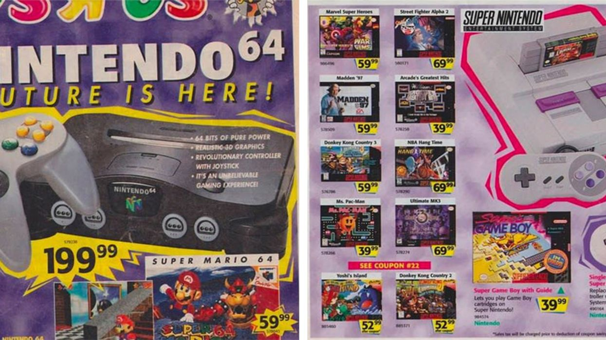"""This 1996 """"Toys R Us"""" Flyer Will Slap You In The Face With Nostalgia"""