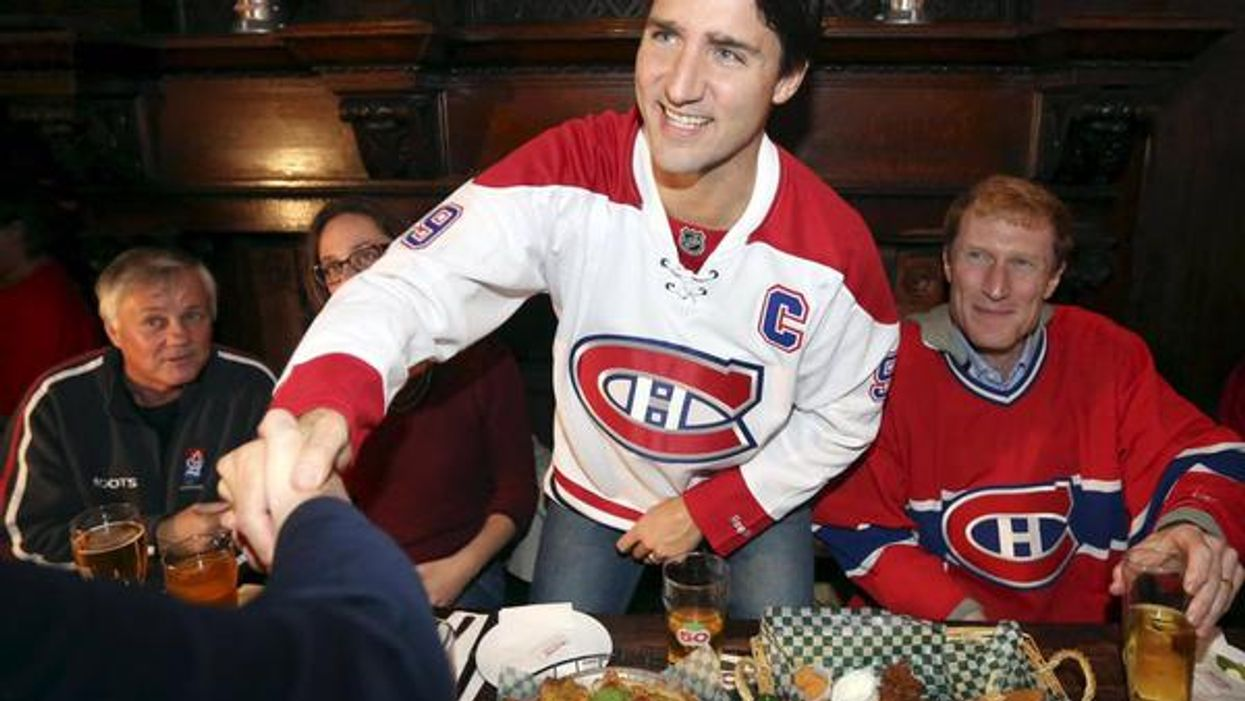 Justin Trudeau Is Related To One Of The Habs!
