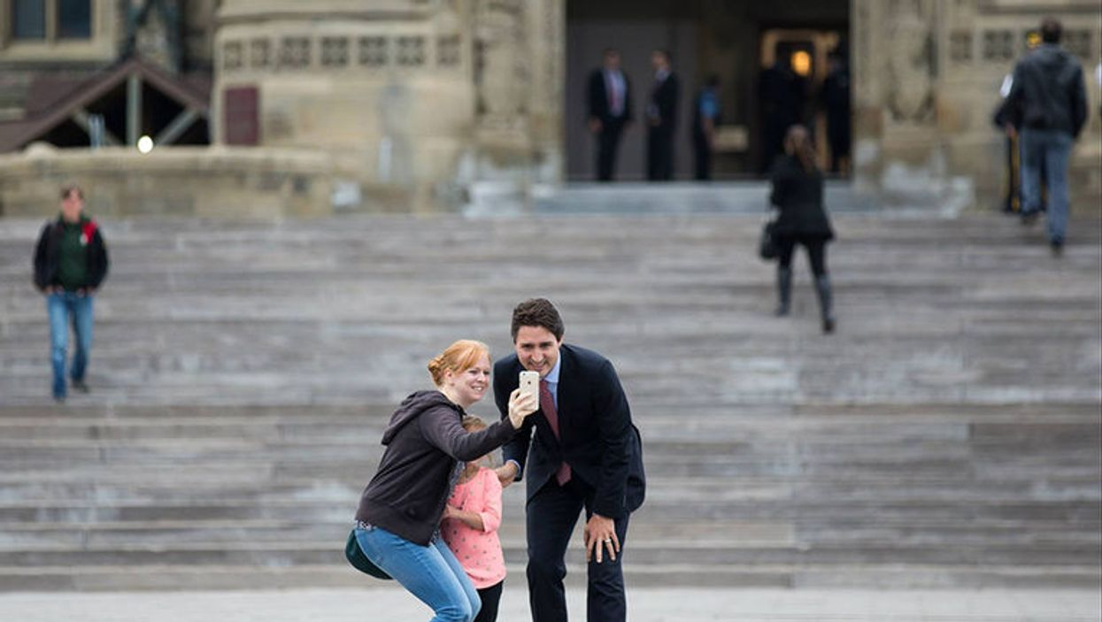 Justin Trudeau's First Week As Prime Minister Of Canada (12 Photos)