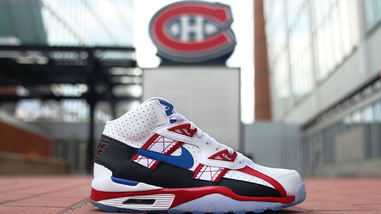 Nike Is Releasing Limited Edition Montreal Canadiens Shoes