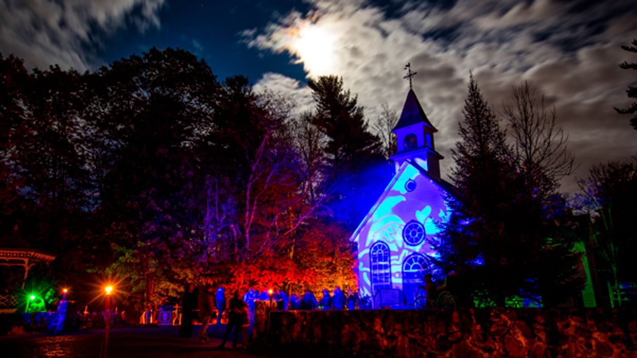 Quebec Town Near Montreal Is Being Transformed Into A Haunted Halloween Village