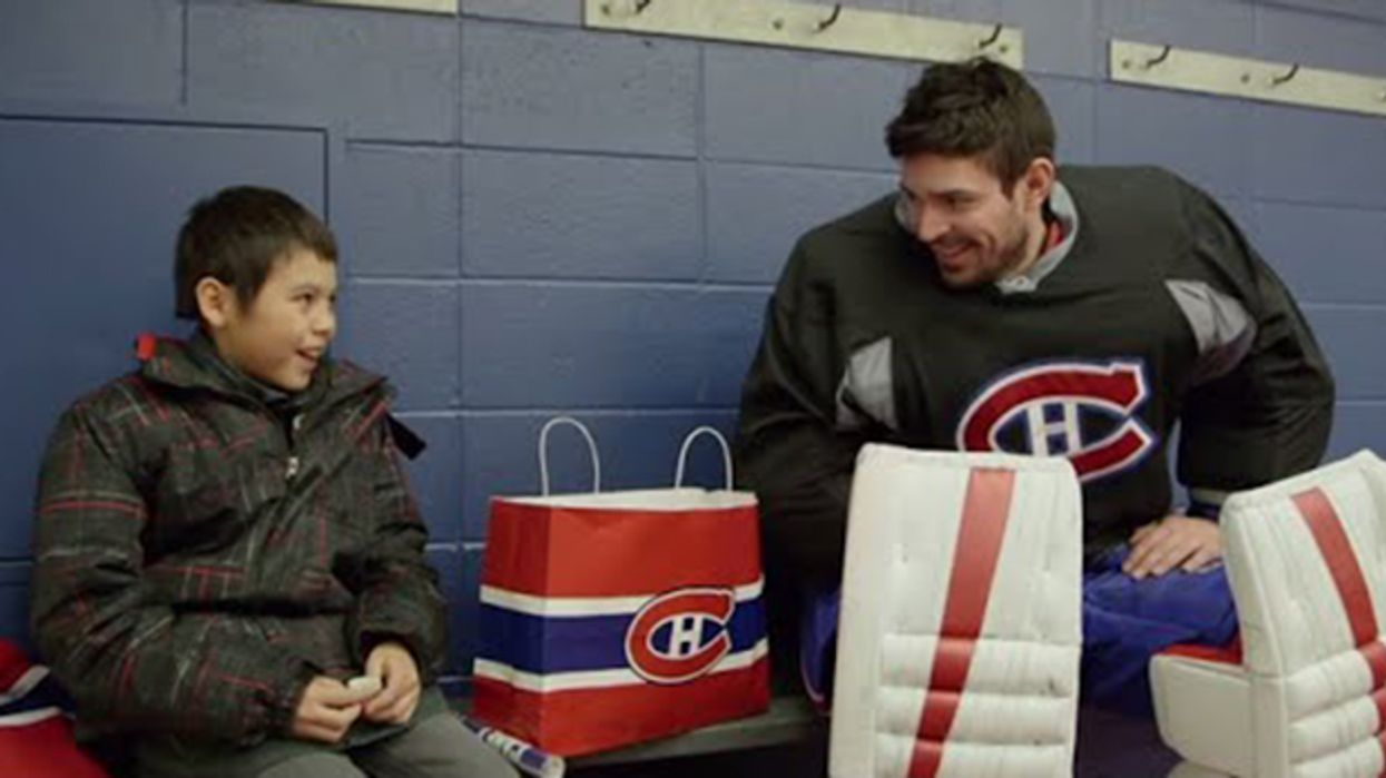 Carey Price Donates Thousands Of Dollars Worth Of Hockey Gear To Underprivileged Kids