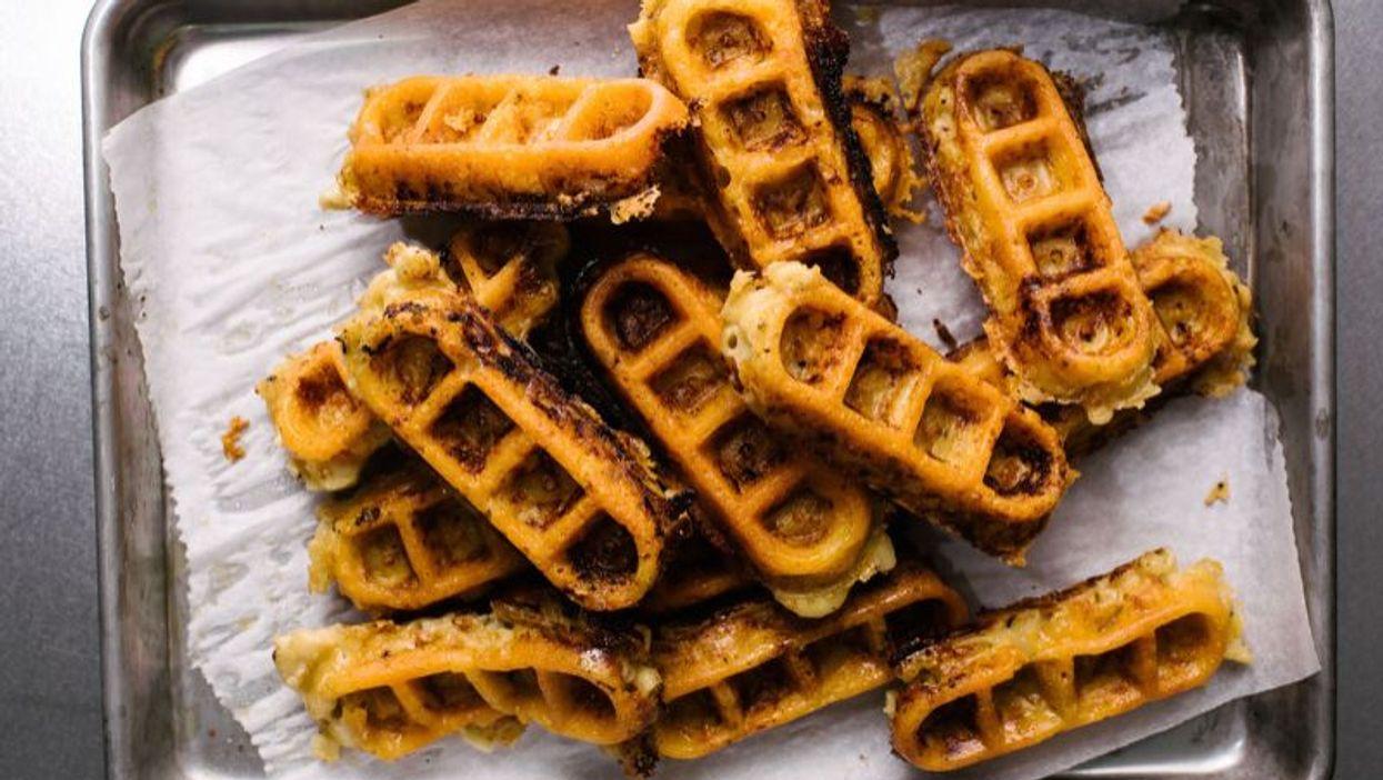 Mac 'N Cheese Waffles? Yes, Mac 'N Cheese Waffles