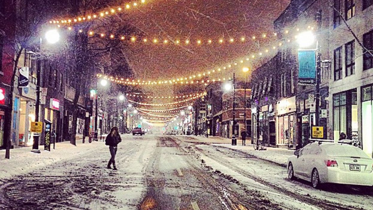 Montreal's Saint-Laurent Street To Be Lit Up With 2.5KM Of Christmas Lights