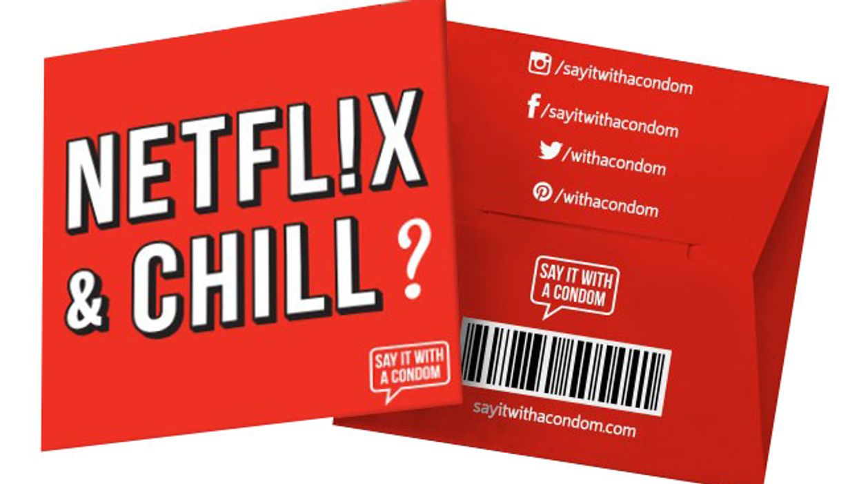 """""""Netflix And Chill"""" Condoms Actually Exist"""