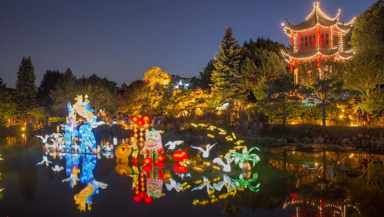"""10 Enchanting Pictures From Montreal's 2015 Botanical Garden """"Lantern Festival"""""""
