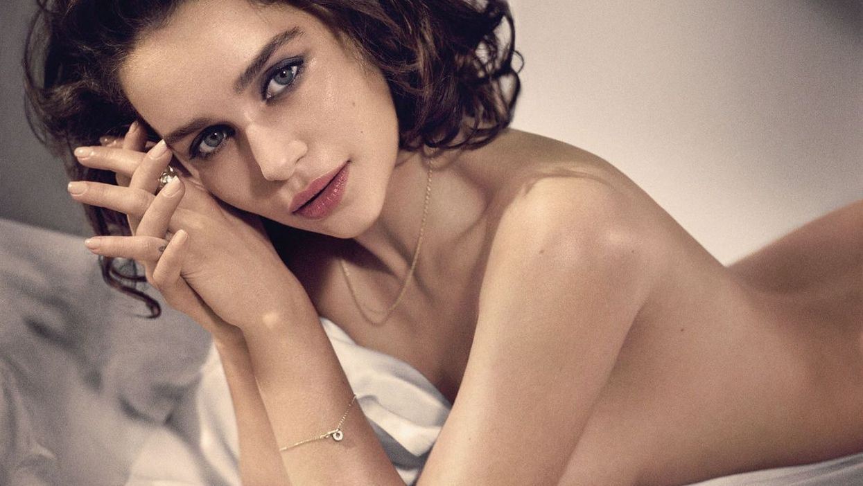 Emilia Clarke Voted The Sexiest Woman Alive 2015