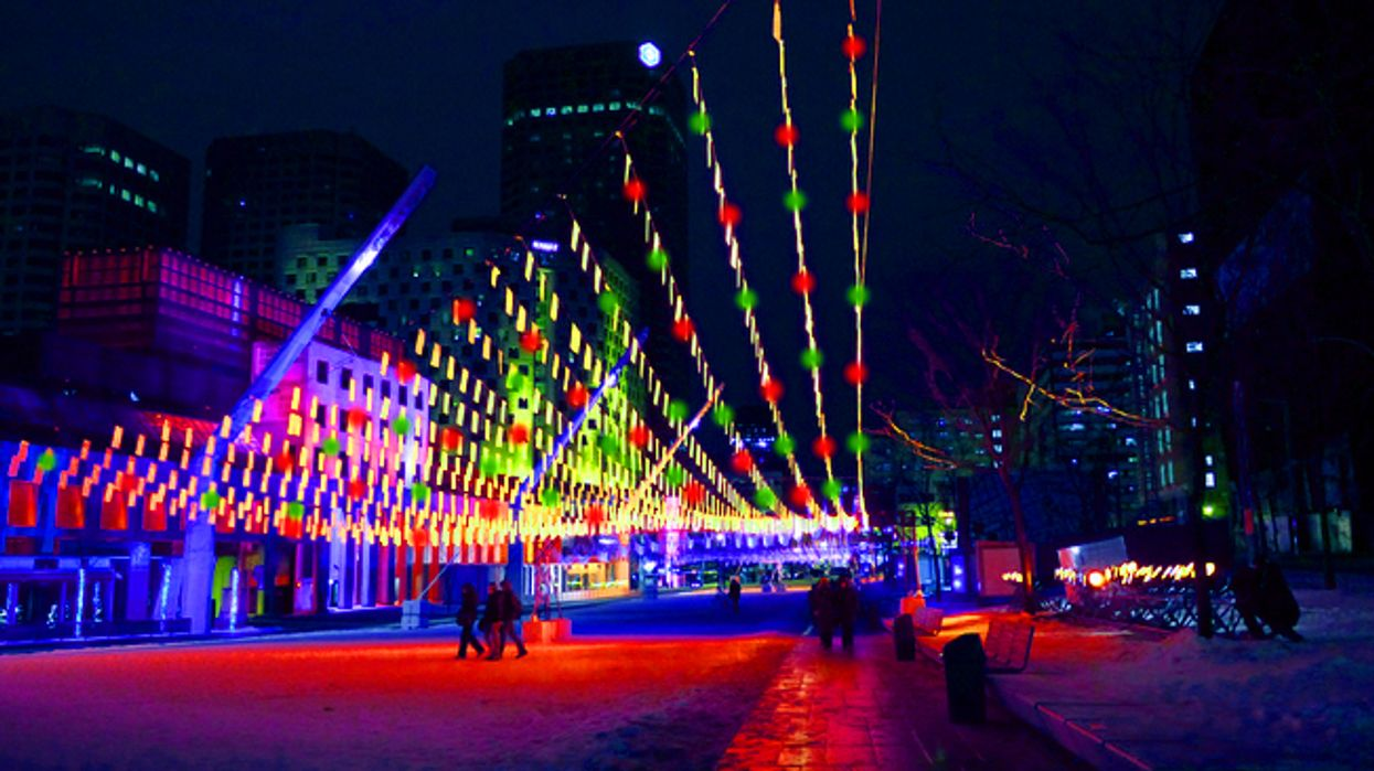 Montreal's Quartier Des Spectacles Will Be Turned Into A Christmas Village
