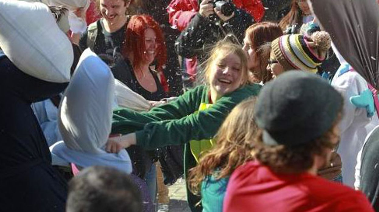 Montreal Is Hosting A Massive Pillow Fight