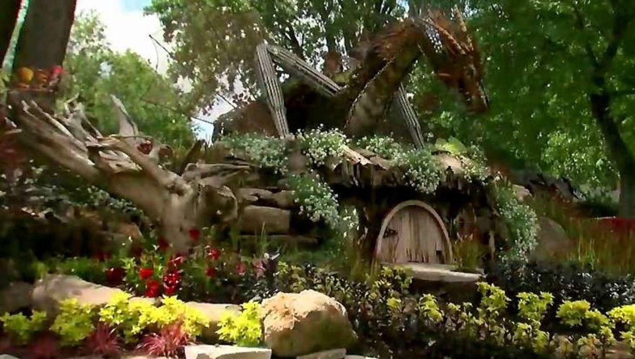 """Montreal Now Has A """"Hobbit"""" Themed Public Garden"""
