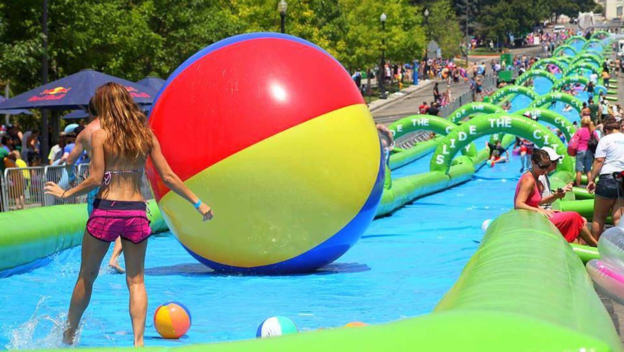 """Montreal Will Be Transformed Into A 1,000 Foot """"Slip-N-Slide"""" This Summer"""