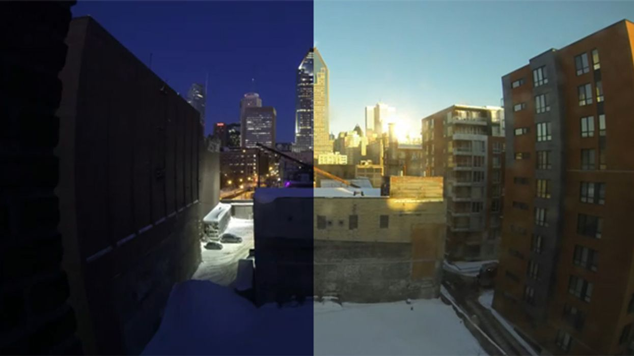 1 Day In 30 Seconds Of Montreal On A Sunny Day