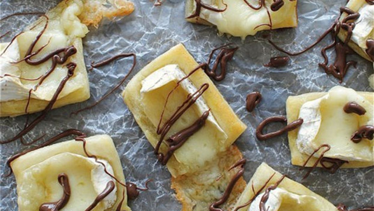 How To Make Nutella And Melted Brie Cheese Bites