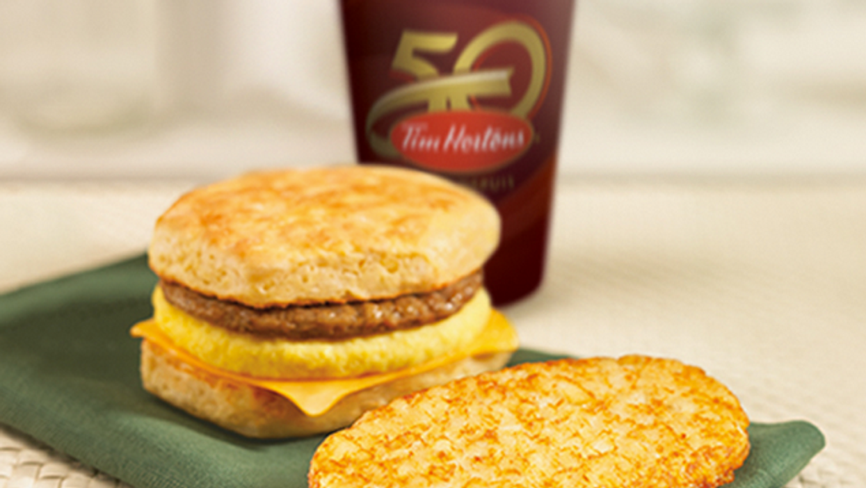 Tim Hortons Is Giving Out Free Hash Browns