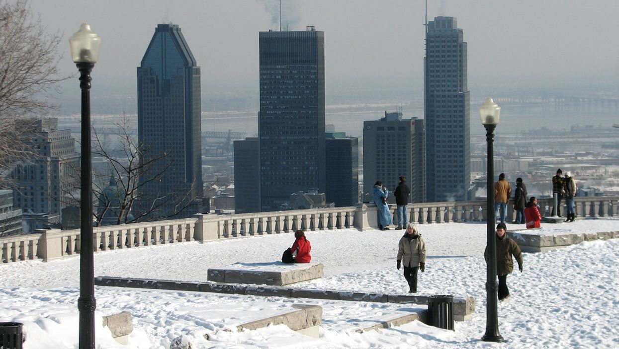 It's Going To Be Warm In Montreal Tomorrow
