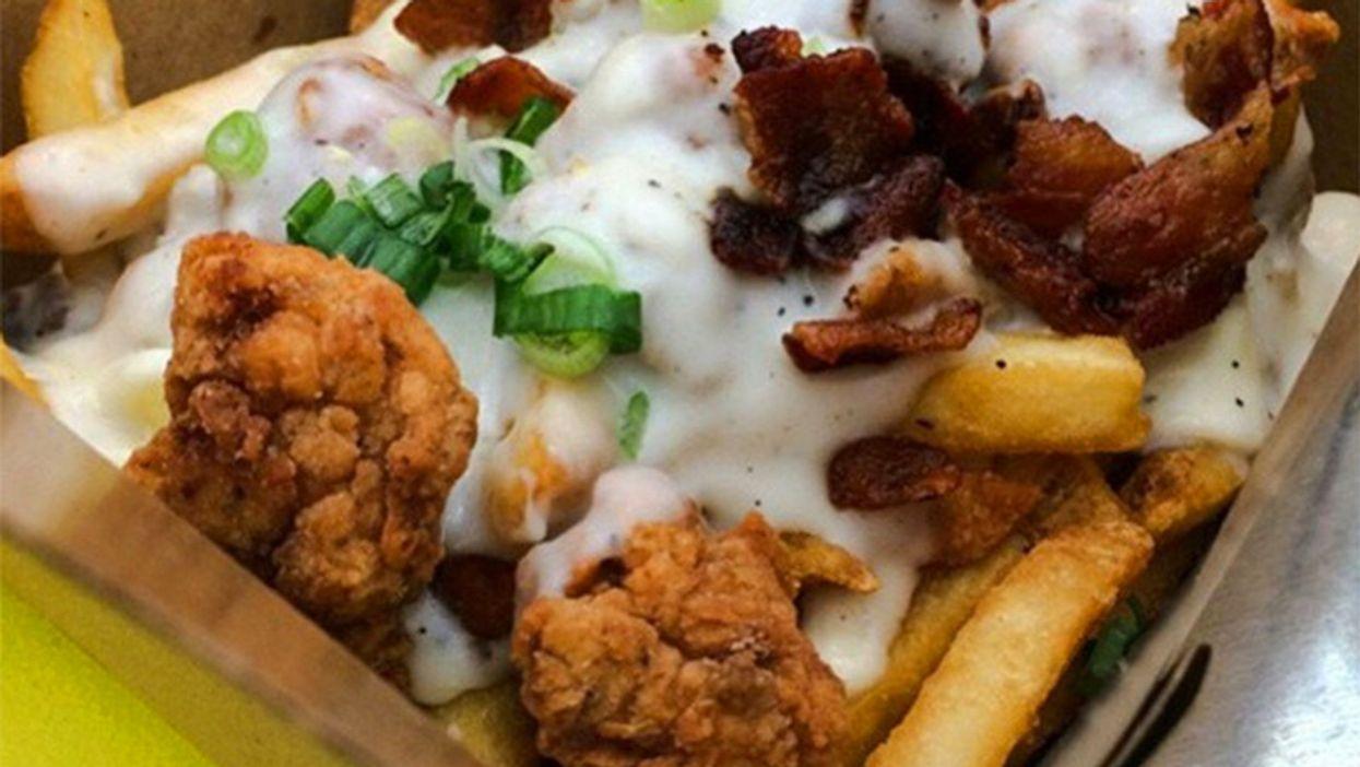 Fried Chicken + Poutine = The Fried Chicken Poutine