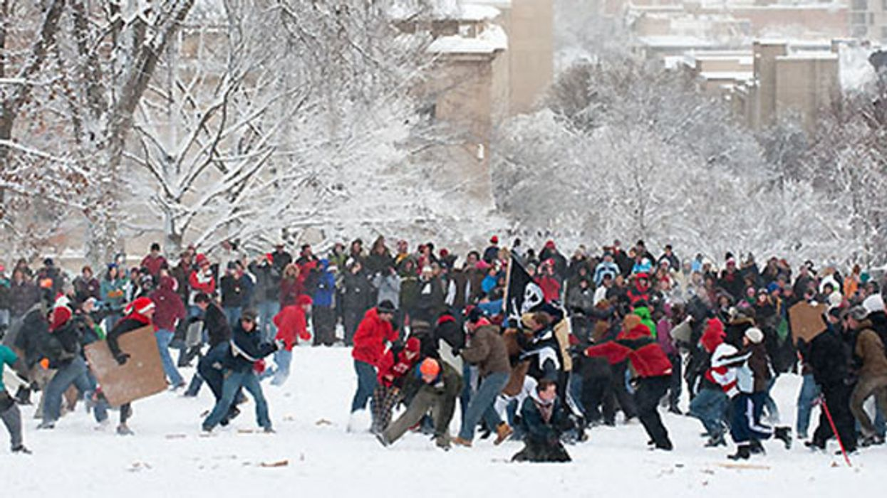 Montreal Is Hosting A Massive Snowball Fight Tomorrow At Parc Jeanne-Mance