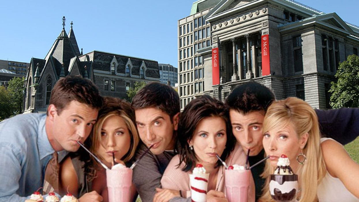 """Montreal Is Hosting A """"Friends"""" TV Show Party At McGill University This Week"""