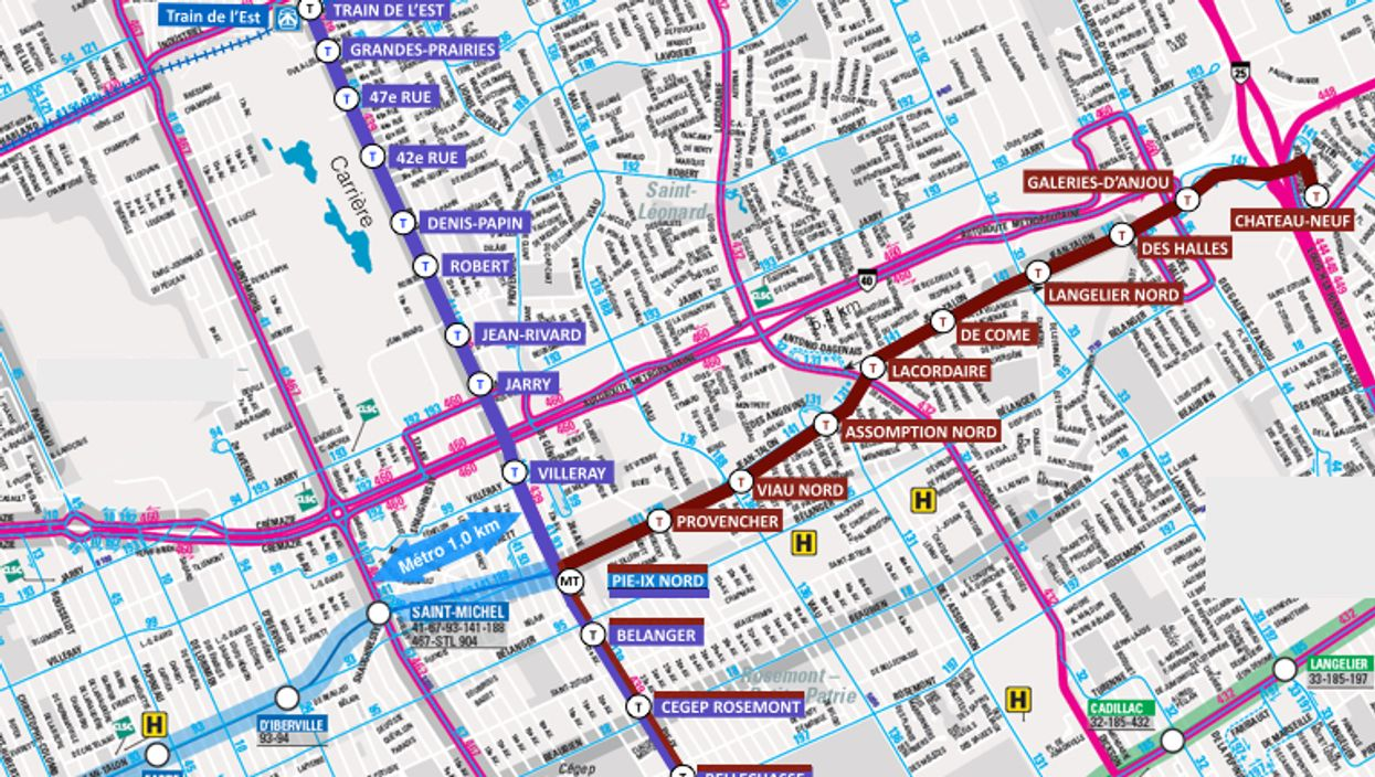 """Montreal To Get """"Above-Ground Metros"""" By 2020"""
