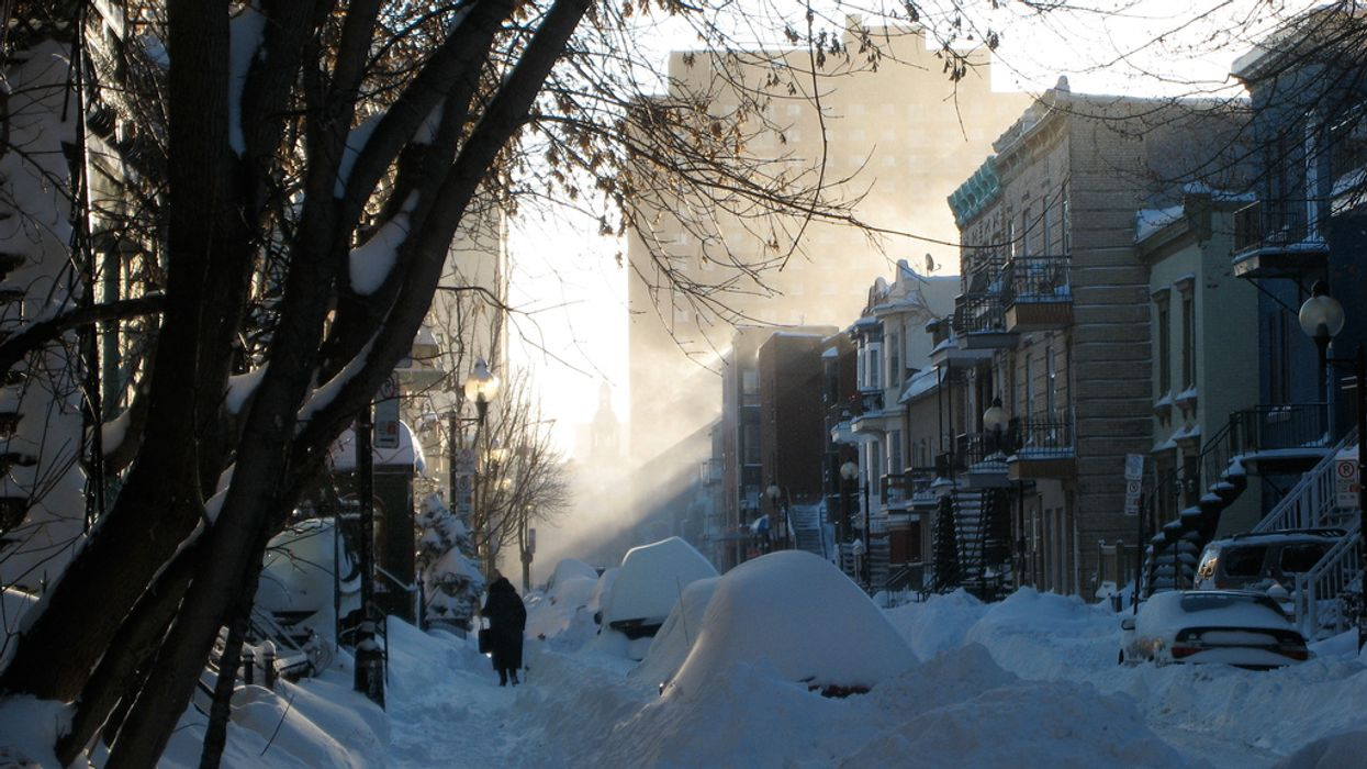 Blowing Snow Weather Warning Is Now In Effect For All Of Montreal