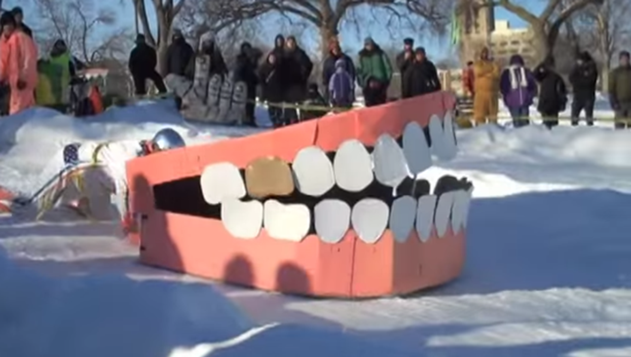 """The First-Ever """"Toboggan Derby Festival"""" Is Tomorrow On Mount Royal"""