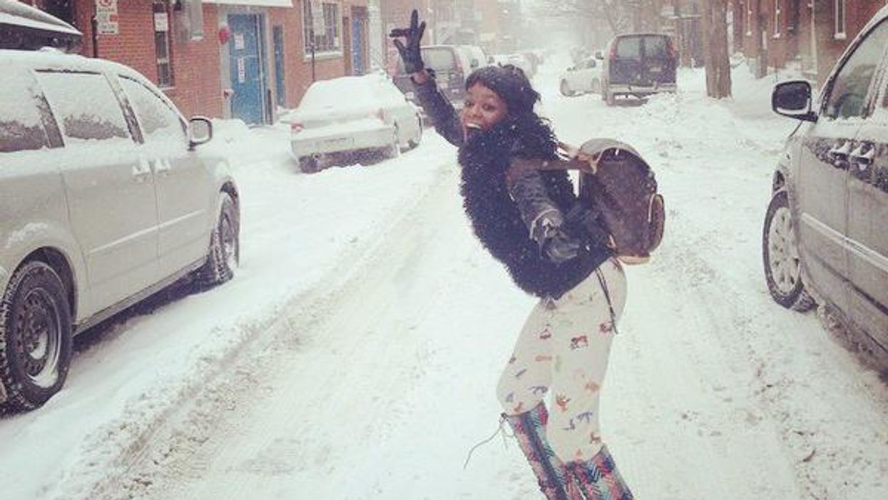 Spotted: Azealia Banks Rocking Out In Montreal's Streets
