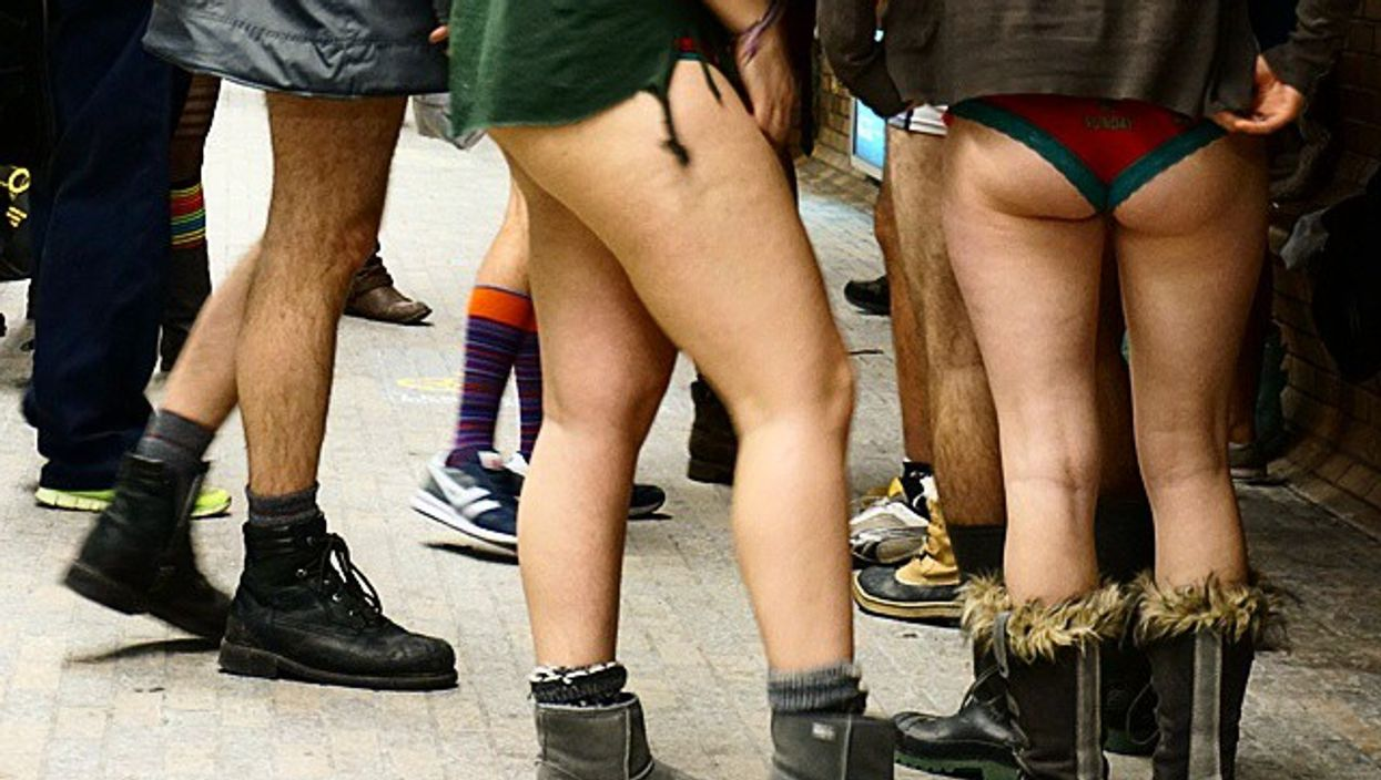 The Official Montreal 2015 No Pants Metro Ride Video You Need To See To Believe