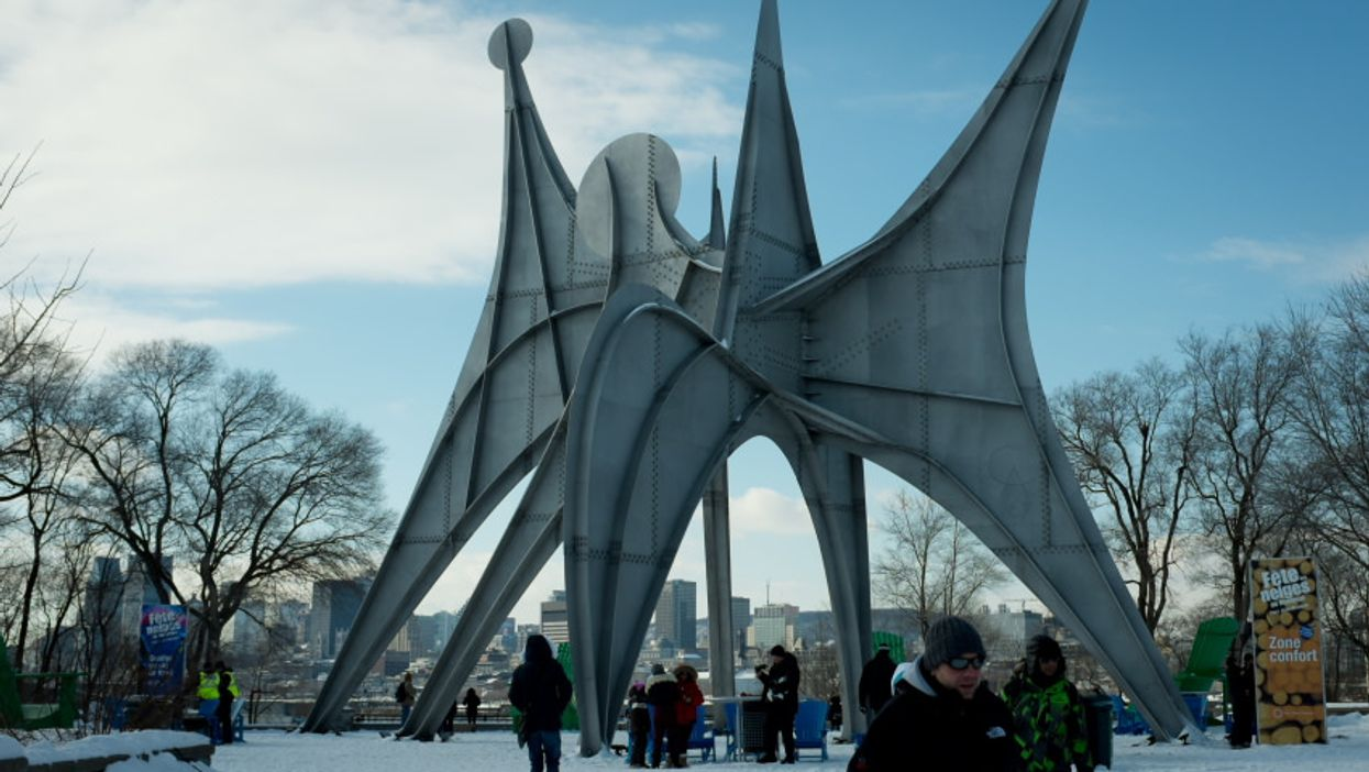 Food Trucks, Dog Sleds, And Ziplines Will Combine At Parc Jean-Drapeau This Weekend