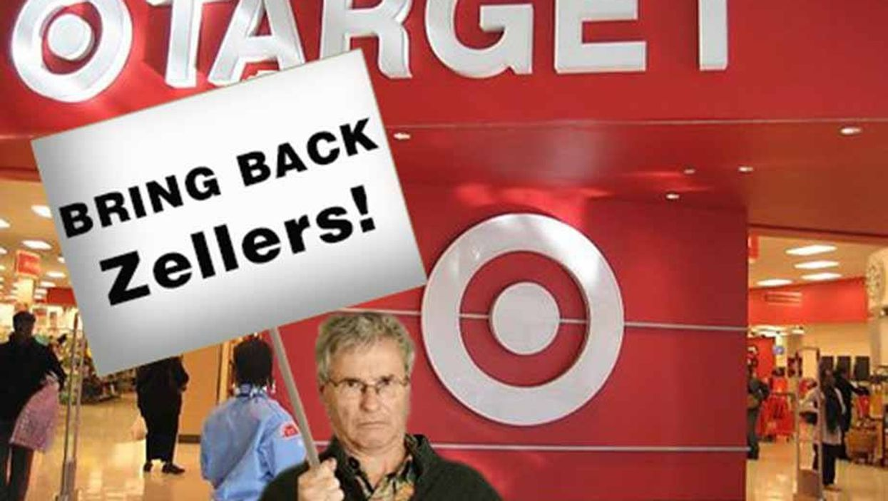 Target Is Leaving Canada, We Want Zellers Back!