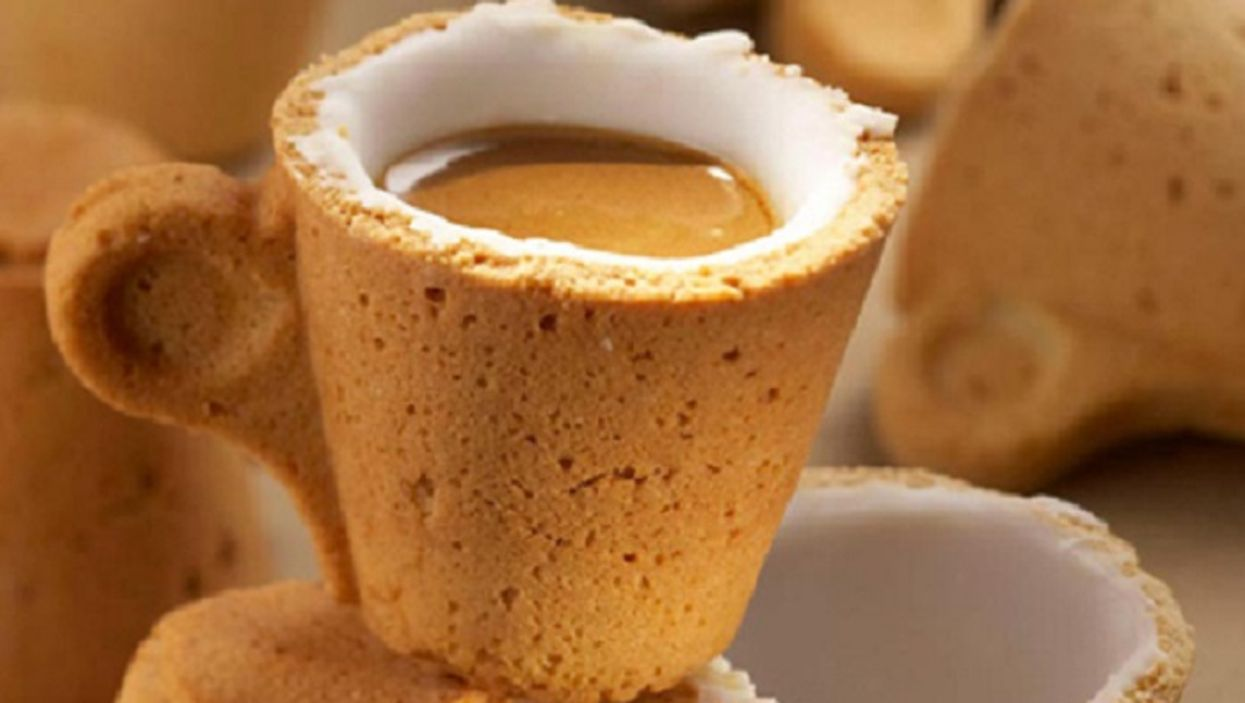 """The """"Cookie Coffee Cup"""" Is The Sweetest Way To Start Your Morning"""