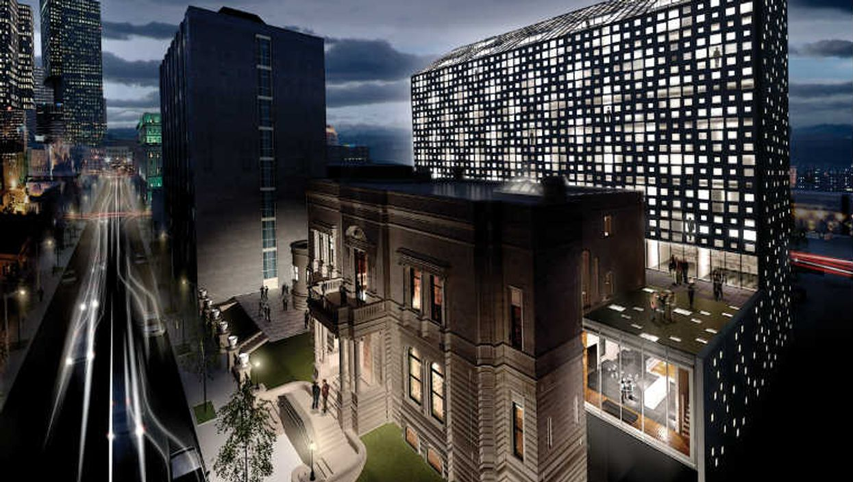 Downtown Montreal Is Getting A 1920s Inspired Hotel On Drummond Street