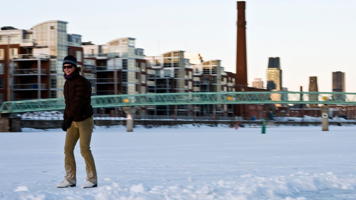 It's Official, Montreal's Lachine Canal Will Become A Huge Hockey & Skating Rink Next Winter