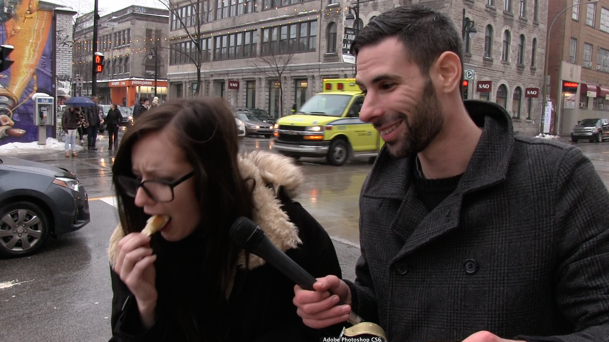 Watch Montrealers Try New York Bagels