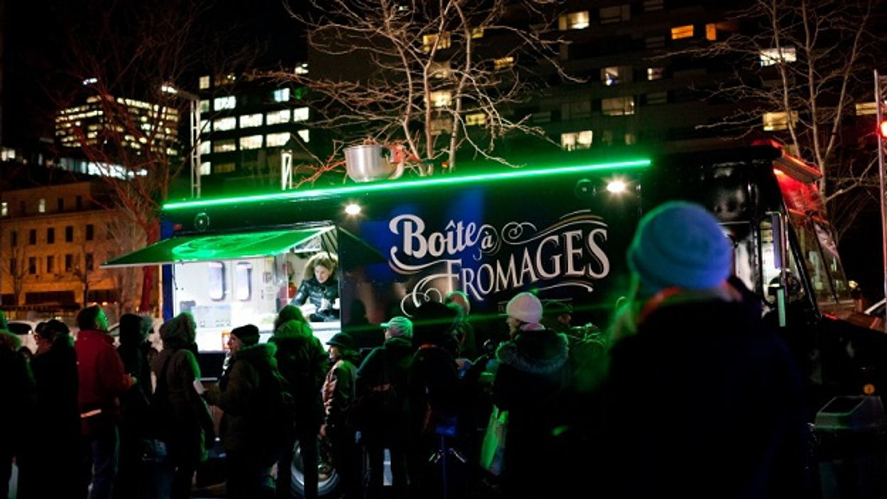 Montreal's Saint Catherine Street Will Have Food Trucks Every Weekend Of January