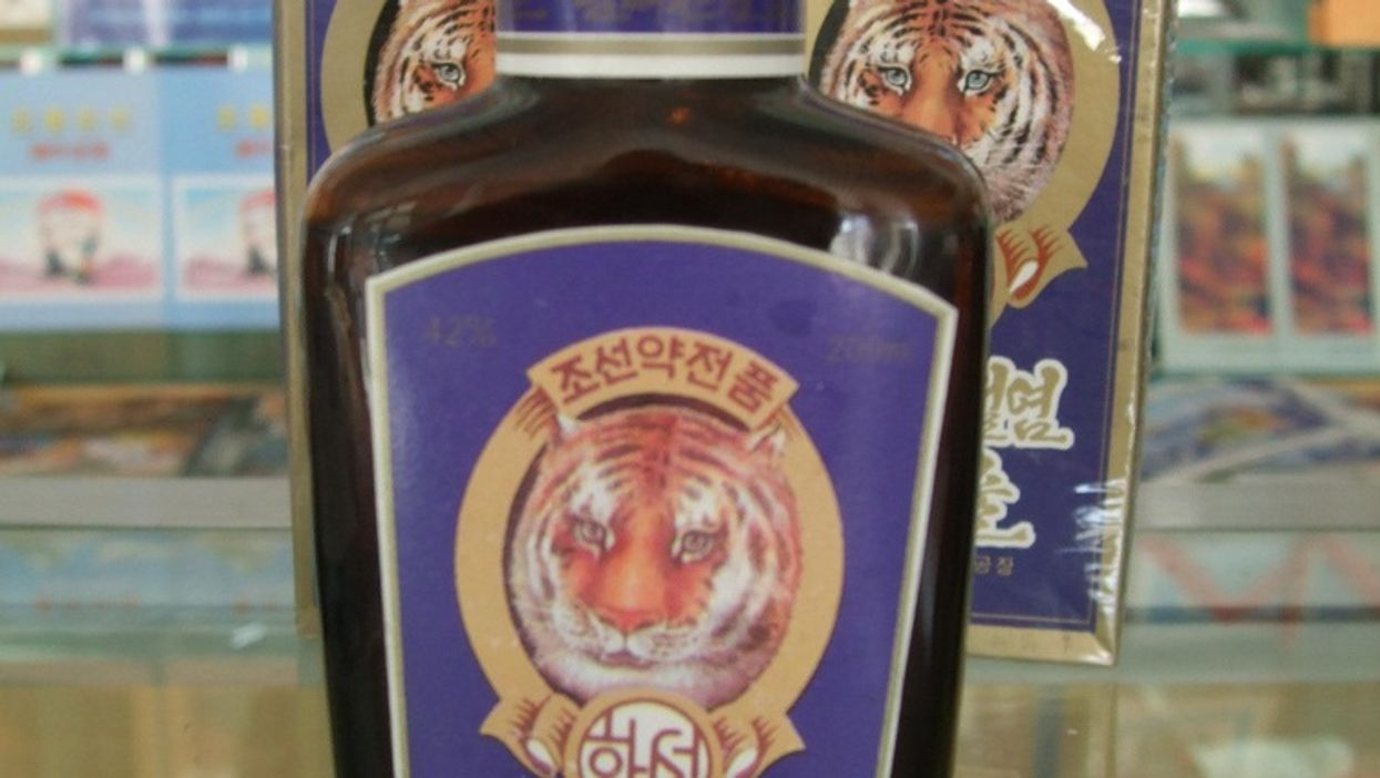 Wine Made Out Of Tigers Is A Real Thing You Can Buy & Drink