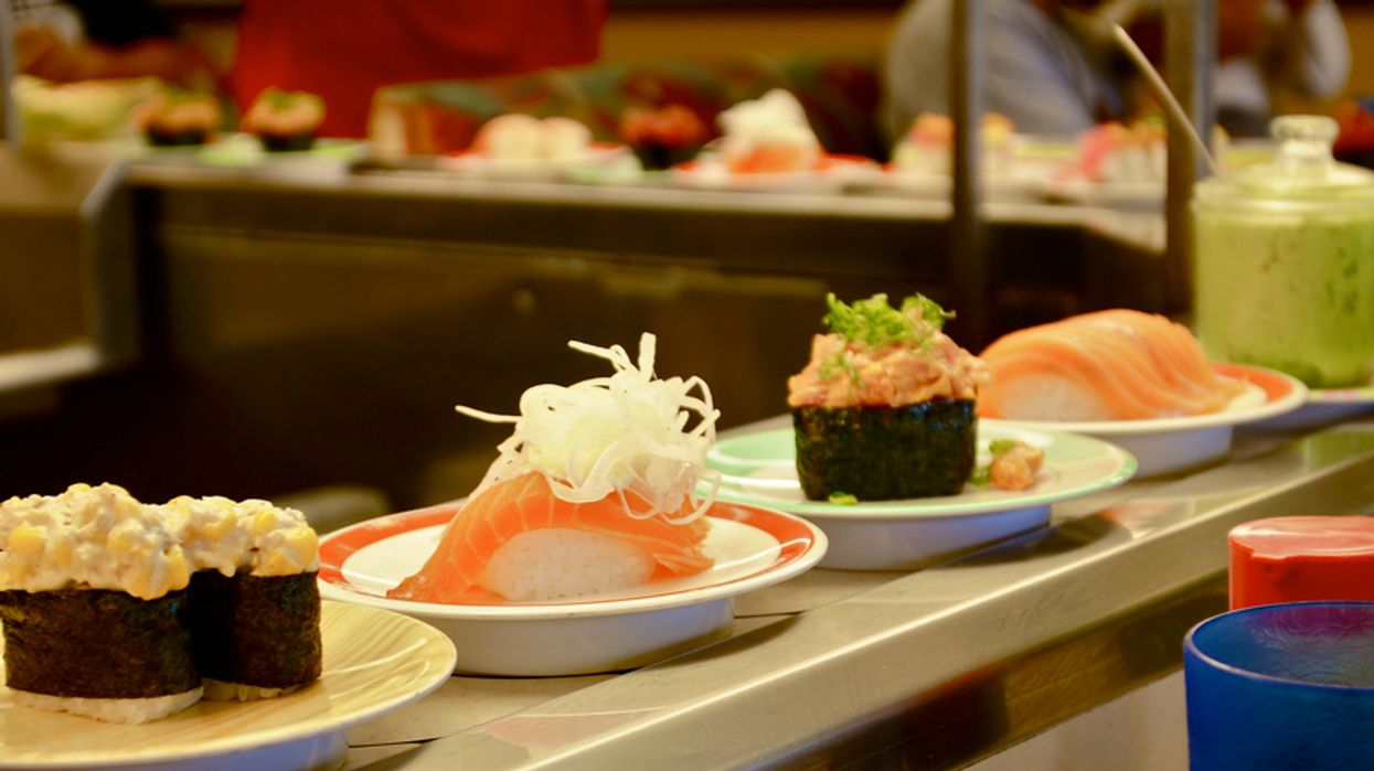 Free All-You-Can-Eat Conveyor Belt Sushi On Crescent Street For Students Is Next Week