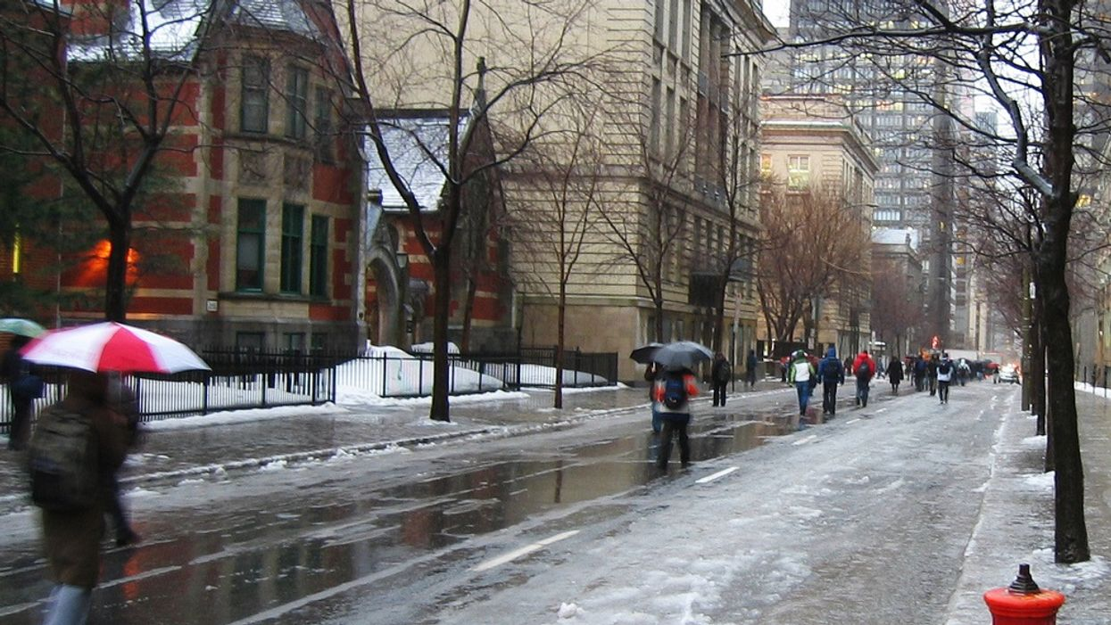 Montreal To Get Hit With A Lot Of Freezing Rain Today & Christmas