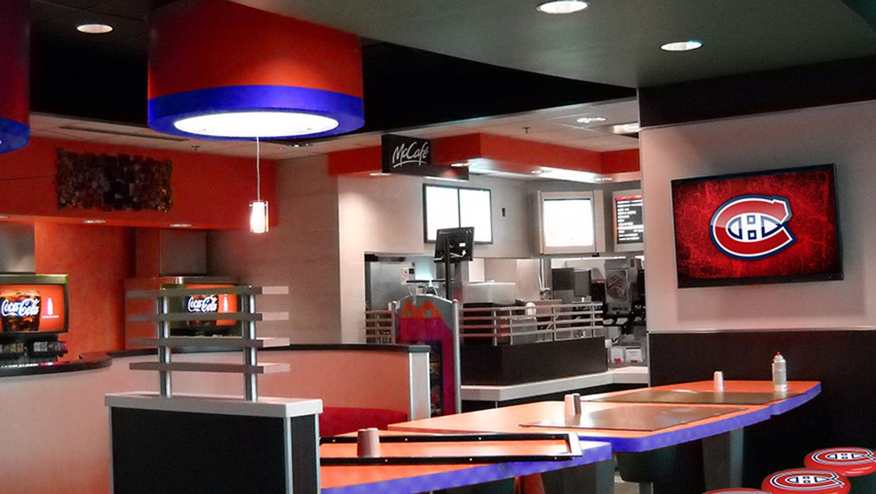 McDonald's Is Opening A Montreal Canadiens Themed Restaurant On De La Montagne Street