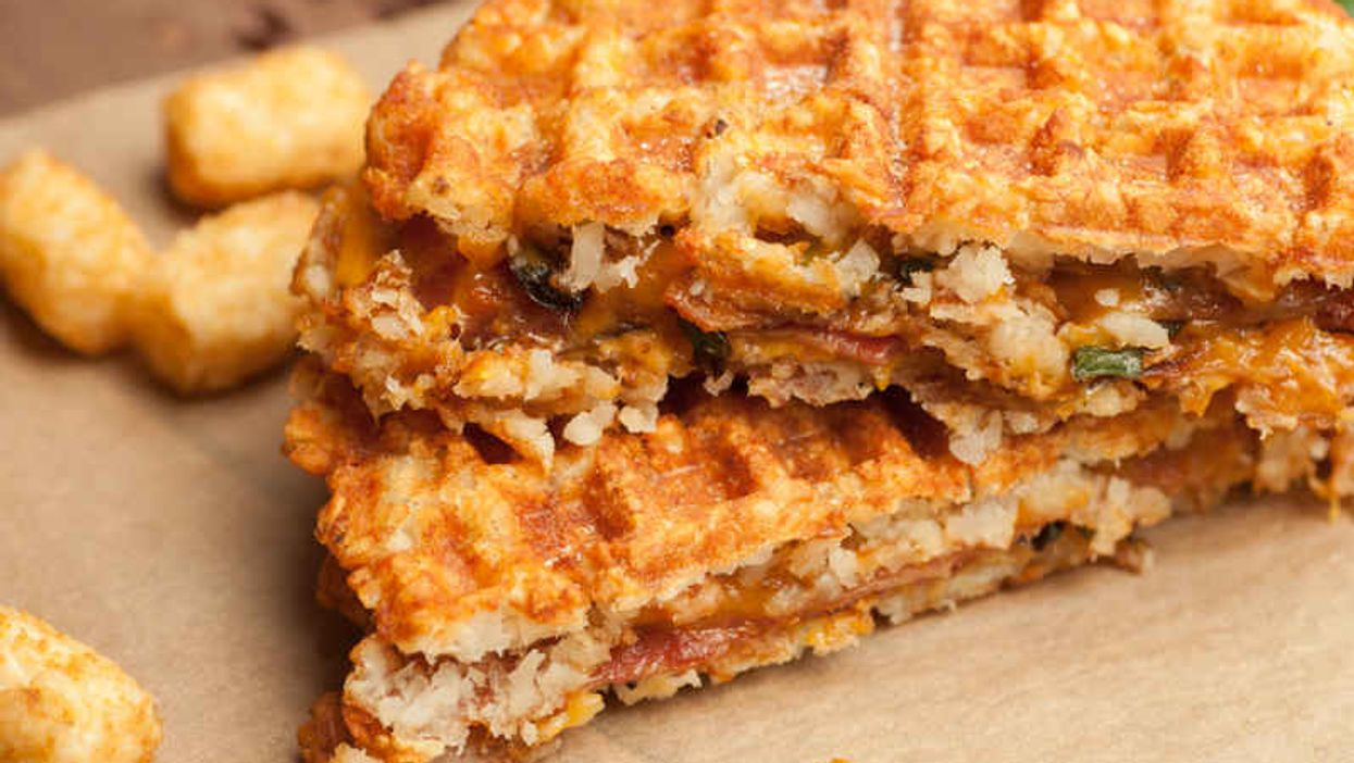 The Bacon-Jalapeño Tater Tot Grilled Cheese Is The Carb Overdose Worth Cheating For