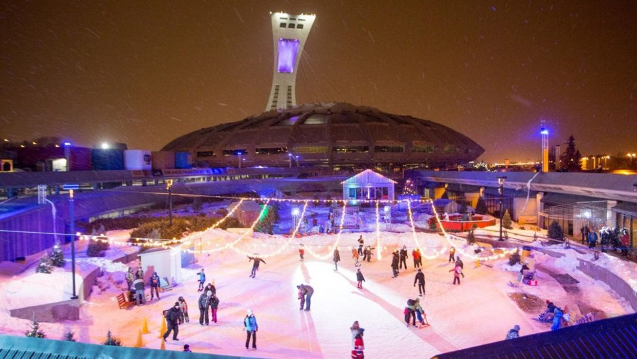 Montreal's Olympic Stadium's Winter 2015 Party Festival Kicks Off This Week