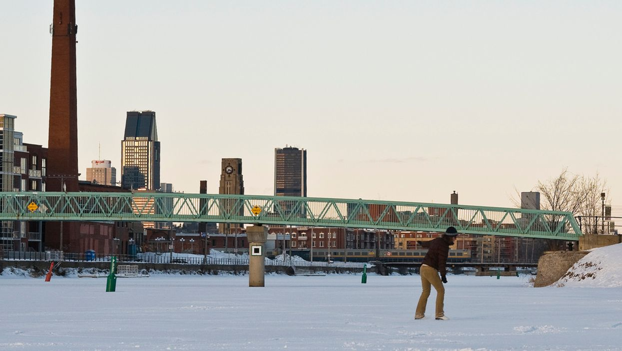 Montreal's Lachine Canal Is Getting An Outdoor Hockey & Skating Rink