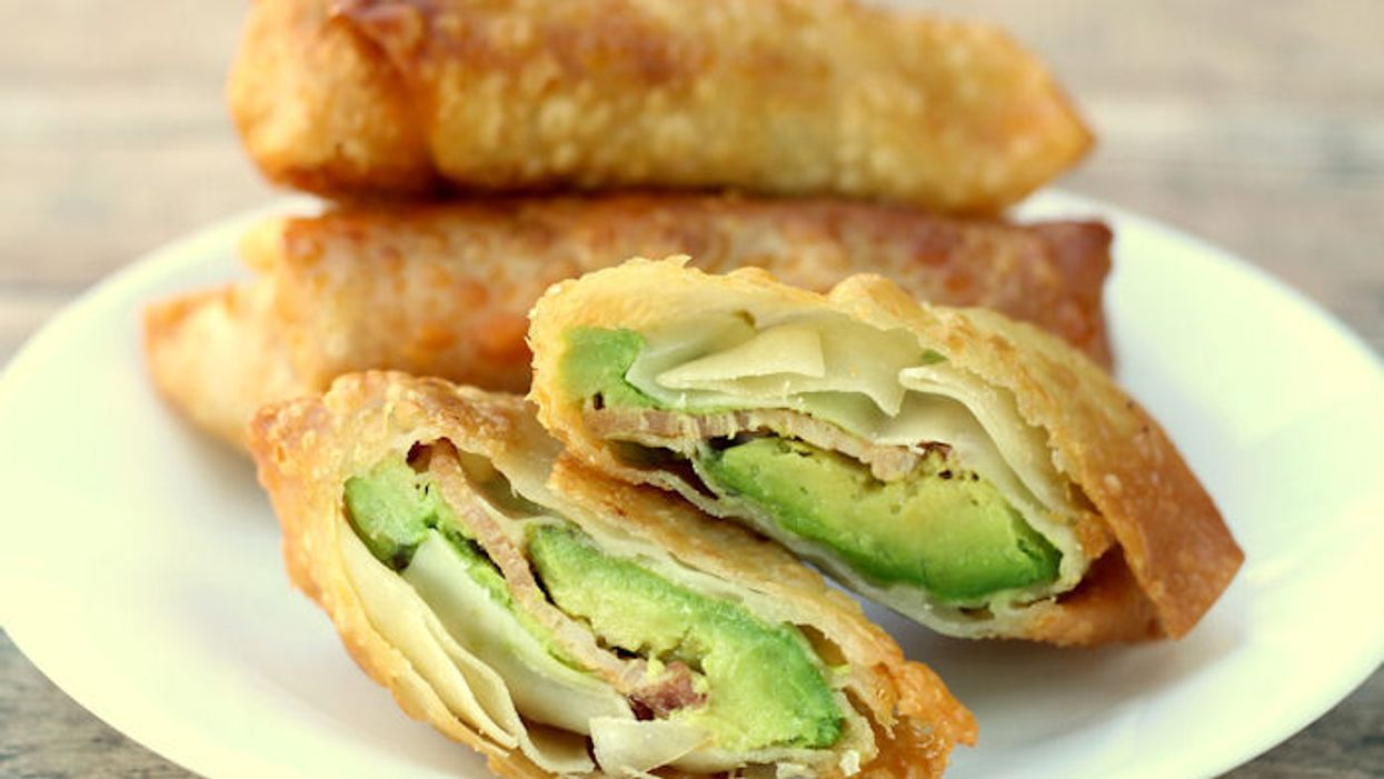 Avocado Bacon Breakfast Egg Rolls Are The Morning Meal You Never Thought Of