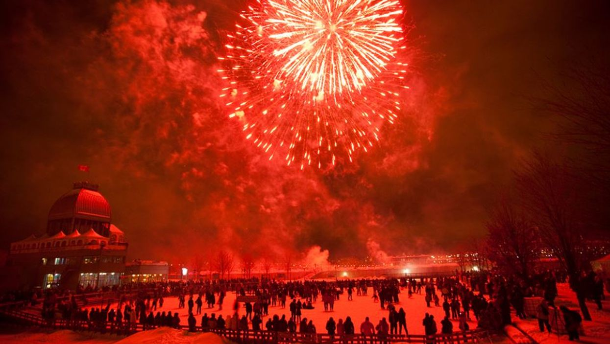 """Montreal's """"Winter Firework Festival"""" Begins Tomorrow In The Old Port"""