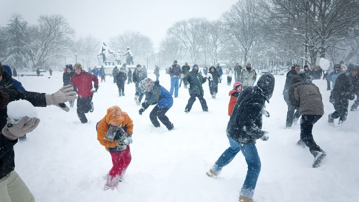 Montreal's McGill University Is Hosting A Massive Snowball Fight This Afternoon