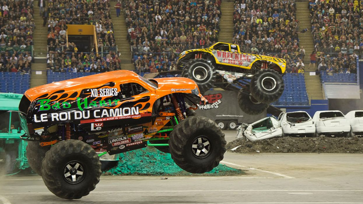 """Montreal's Olympic Stadium Is Hosting A Giant """"Monster Truck Festival"""" In 2015"""