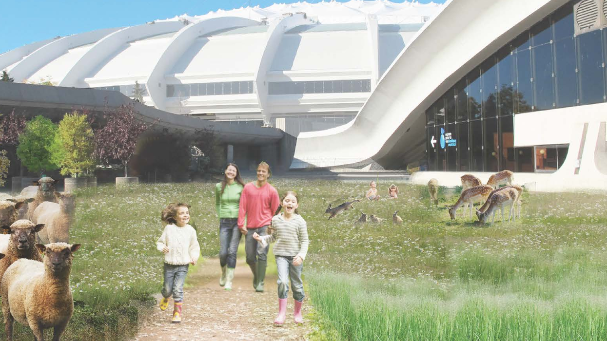 """Montreal's Olympic Park To Get """"Terrasses"""" And More Green Spaces?"""