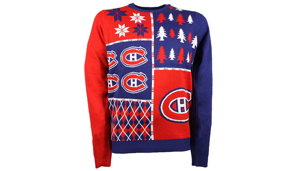 Here's The Habs Ugly Christmas Sweater You Didn't Know You Need