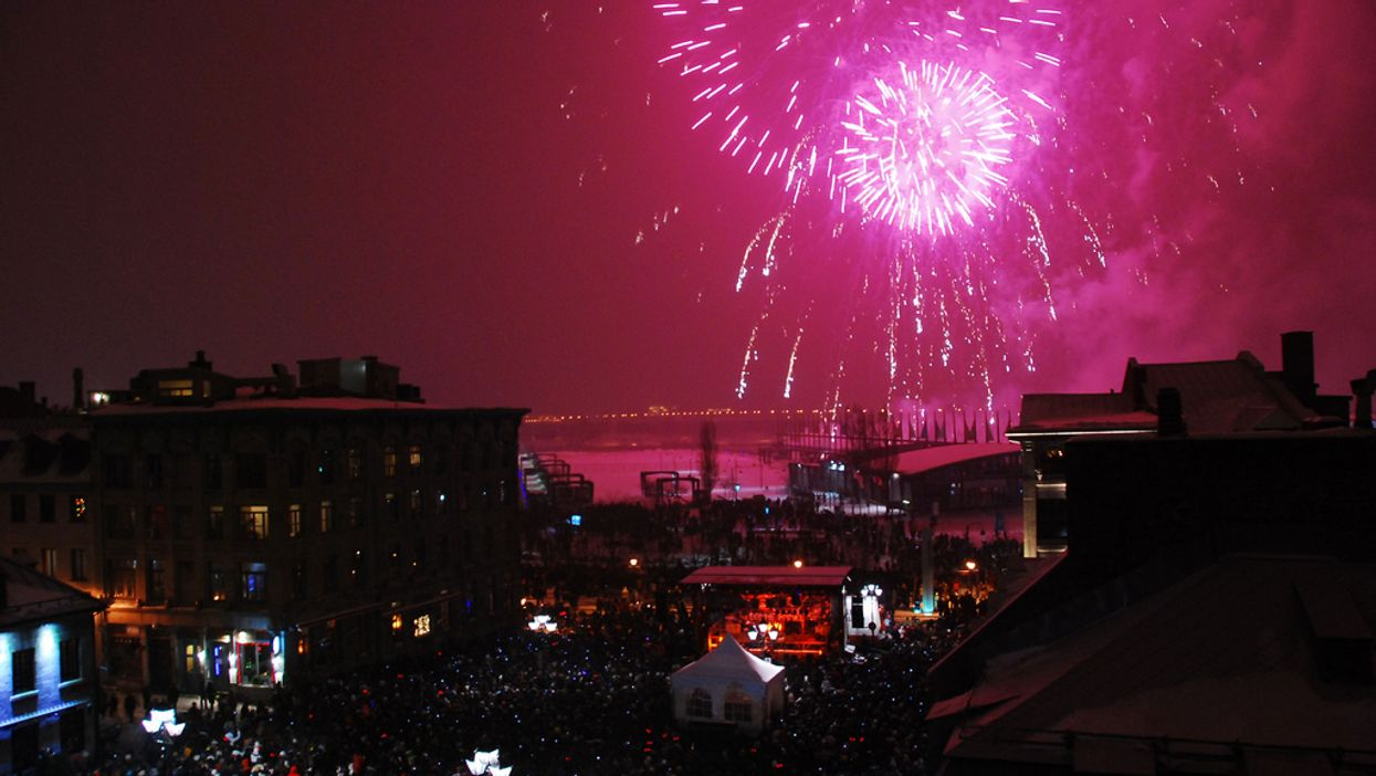 Montreal's Final Winter Fireworks Show Of 2014 Is Wednesday Night At Place Jacques Cartier
